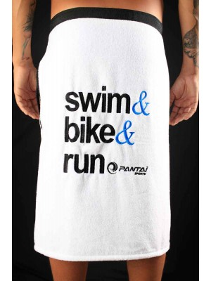 Toalha Pantai - Swim Bike Run