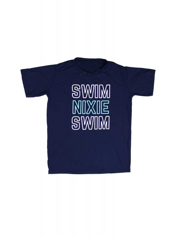 Camiseta Masculina - Swim Nixie Swim - Navy